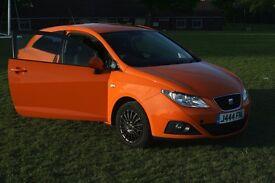 2010 Seat Ibiza 1.4 16v Sport SportCoupe 3dr Orange