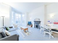 2 double bedroom raised ground floor flat seconds from West Hampstead Station available immediately!