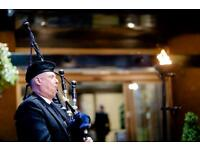 Expert Wedding Bagpipers/Pipers for Hire