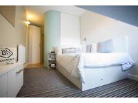 Student En-suite room at Brunswick House