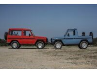 WANTED MERCEDES G WAGON