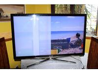 Samsung 46in Full HD 3D LED TV for parts, Ashford,Kent