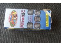 Penrock Lava rock replacement ceramic briquettes and Landmann Lavastein Lava Rocks 3kg.