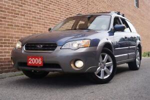 2006 Subaru Outback 2.5i Limited, AWD, Leather, Sunroof, Alloy,