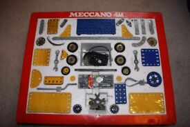 1970's Vintage 4M Meccano Set.