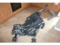 Obaby Buggy / Pushchair - Black and White