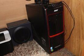"Acer Predator G3-605 i5-4460 8GB 1TB + 27"" Acer K272HL MONITOR - BRAND NEW CONDITION BARGAIN"