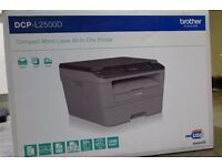 Brother DCP-L2500D Compact Mono Laser All-in-One Printer Print / Copy / Scan