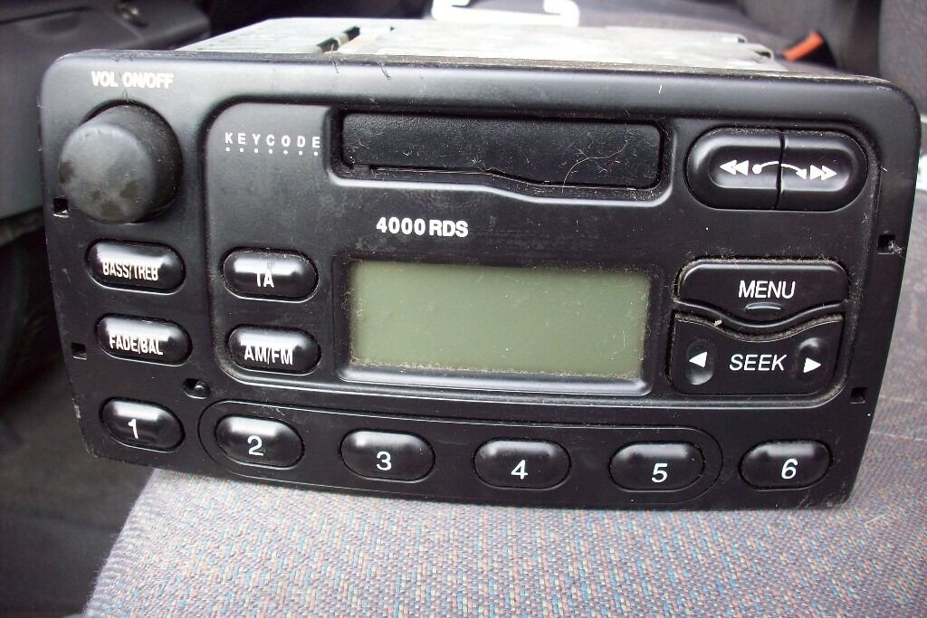 Ford 4000 rds cassetteradio with code in bromford west midlands ford 4000 rds cassetteradio with code publicscrutiny Choice Image