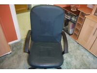 Office / study chair with good sturdy arms,