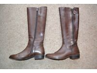 Caprice Ladies Leather Knee Length Leather Boots Excellent Condition