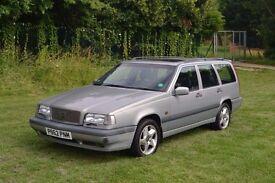 VOLVO 850 1996 P REG – 2435cc Manual. Petrol