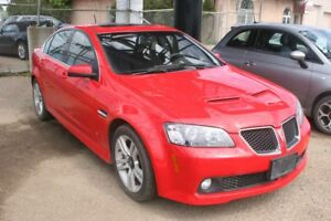 2009 Pontiac G8 AUTO, S/ROOF, ALLOYS, FOGLAMPS