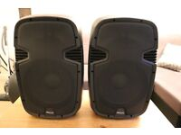 A pair of ProSound 300W 12-inch Active Speaker with Bluetooth