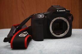 Canon EOS 70D 20.2mp + 18-55mm kit lens + 75-300mm canon lens