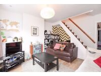 A one bedroom end of terrace Victorian cottage available to rent in Kingston. Hawks Road.