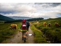 Going to West Highland Way.Scotland