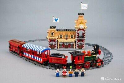 Custom Compatible LEGO 71044 Disney Train and Station