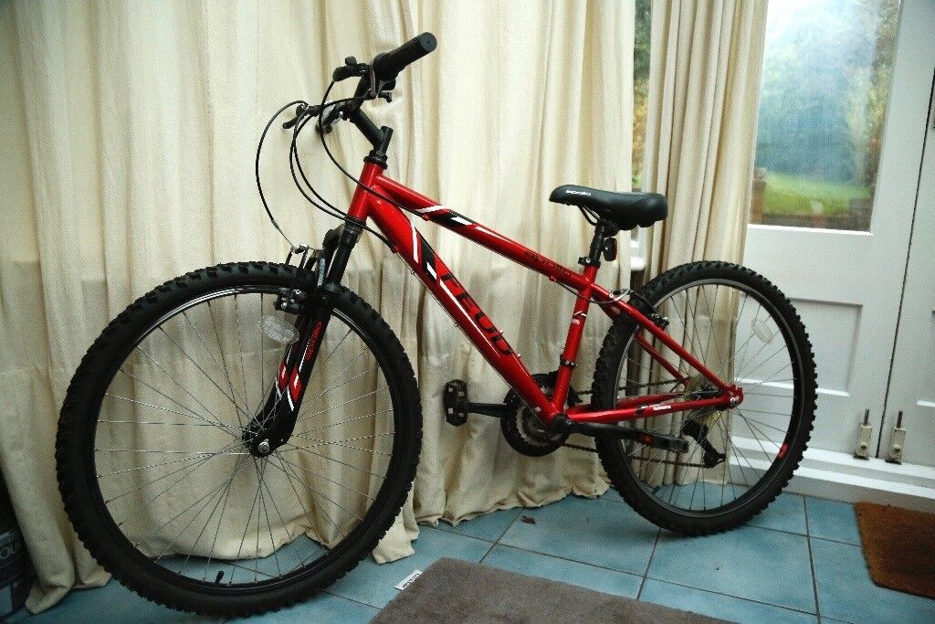 Great Bike, Mens Mountain Bike, Red, 26inch, Apollo Feud, ideal for teenager/boy