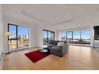Extremely spacious 7th floor 2bed 2bath flat VACANT! Gym Pool! London City Island Popular E14 E16 JS