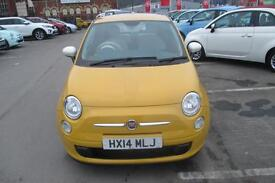 Fiat 500 COLOUR THERAPY (yellow) 2014-03-01