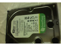 1.5TB western digital sata hard drive (internal PC desktop)