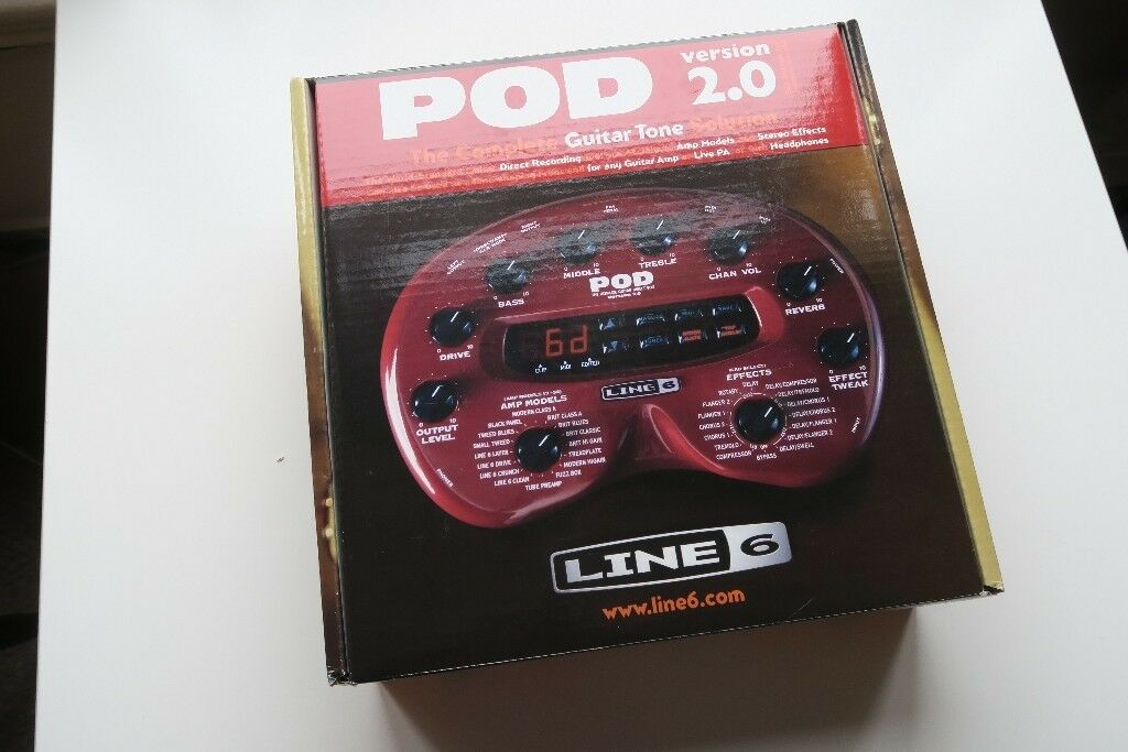 Line 6 POD 2.0