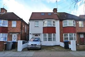 Beautiful and spacious self-contained Studio flat with garden in Wembley inclusive of all bills