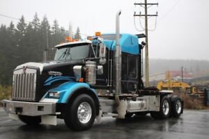 2006 Kenworth T800 with Tulsa RN 30 Hyd Winch Rig-up T800 Winch