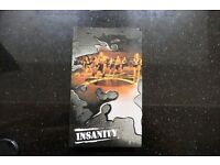 Insanity Shaun T exercise program 12 dvds & nutrition book TREAD the GLOBE