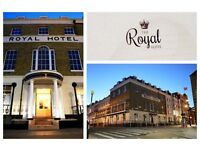 Expansion at The Royal Hotel