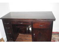 Bargain Elegant Solid Wooden Desk £250