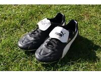 Pair of Junior Puma football boots , size 6