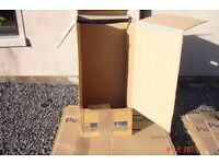 Cardboard Boxes House Moving