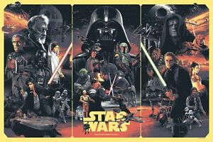 Star Wars by Gabz - Limited Edition ScreenPrint - Numbered - Nt Mondo