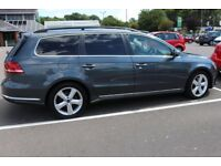 VW Passat Estate 2012 1.6 Engine Size Blue Motion, Only £30 Road Tax Start and Stop Function