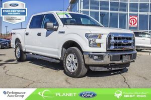 2015 Ford F-150 XLT 4X4 FORD CERTIFIED LOW RATES & EXTRA WARRANT