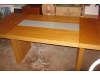 LOVELY DINING TABLE, A BARGAIN