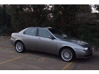 Alfa Romeo 156 2.0 ts Selespeed 57 plate design by GIUGIARO not fiat bmw mercedes 159 .