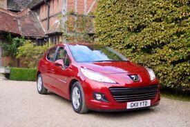 Peugeot 207 1.4 VTi Envy 5dr - Low mileage VTi engine 95 bhp