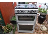 stoves new home electric cooker 50 cm double oven