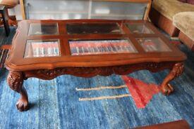 Large Mahogany Coffee Table