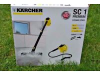 Karcher SC 1 Premium Steam Cleaner Washer with Home Floor Kit. Hygienically chemical free cleaning