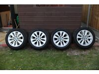 "BMW 1 Series 16"" Alloy Wheels and Tyres"