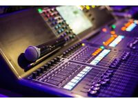 PA Sound System Hire + Live Sound Engineer for Events, Conferences, Bands, Solo Acts, Tributes