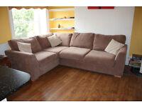 Bargain Price Reduced!!! Corner Sofa - Right Facing