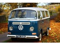 1972 VW Baywindow T2 Campervan / Kombi - Lowlight Crossover with 1600 aircooled engine