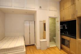 Cosy studio flat to rent in Fleet Street- Deposit Free Renting