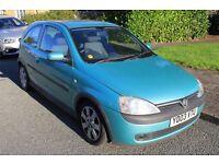 Vauxhall Corsa 2003 1.2 SXi 3d For Sale