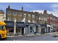 A spacious, split-level one bedroom flat in Newington Green